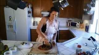 Oat Crust Vegan Pizza