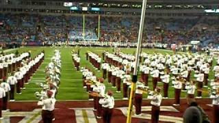 FSU Marching Chiefs entrance and fight song for ACCCG