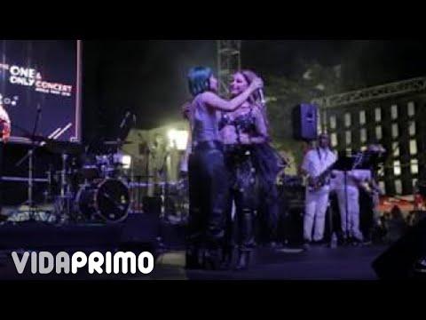 Olga Tañon Feat. Elysanij – Basta Ya [Live @ Fiestas Calle San Sebastian 2020]