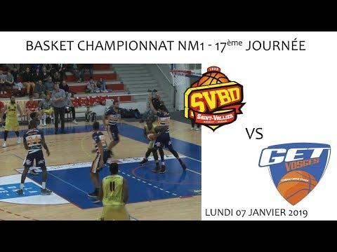 2019 01 07 Basket   Championnat NM1 17ème journée   SVBD vs GET VOSGES