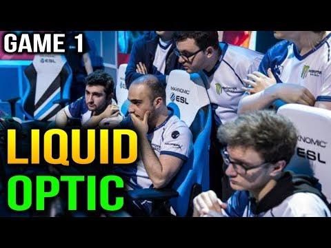 LIQUID VS OPTIC - ESL One Katowice 2018 - Game 1