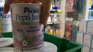 Salmonelle : retrait massif de laits infantiles Lactalis