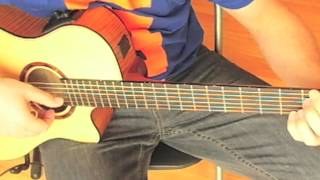 'When I need you' by Leo Sayer played on guitar