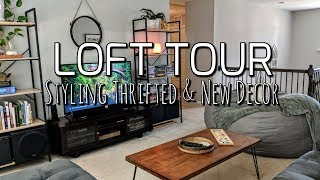 Thrifted Loft Home Tour-Styling Thrift Store Decor & New Furniture!