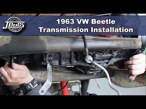 JBugs - 1963 VW Beetle - Transmission Installation