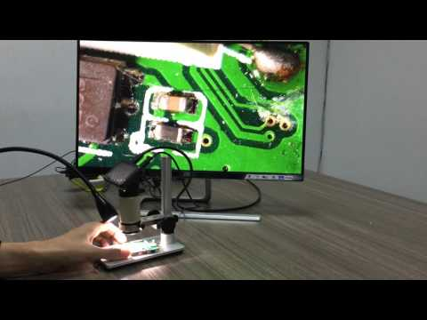 Smartphone PCB repair check SMT Andonstar ADSM201 digital microscope FULL HD 1080P HDMI OUT