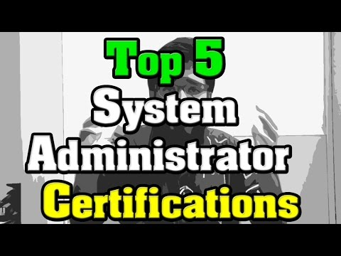 🔻Top 5 System Administrator Certifications🔺