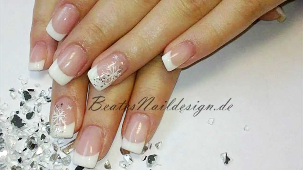 n gel f r weihnachten nageldesign dezember 2011 beatesnaildesign youtube. Black Bedroom Furniture Sets. Home Design Ideas