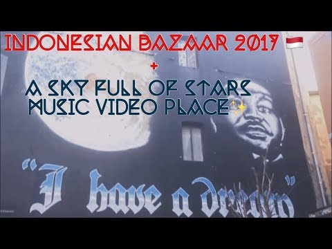 02 Indonesian Bazaar 2017 + Visiting Coldplay's Music Video Location (29/07/17)