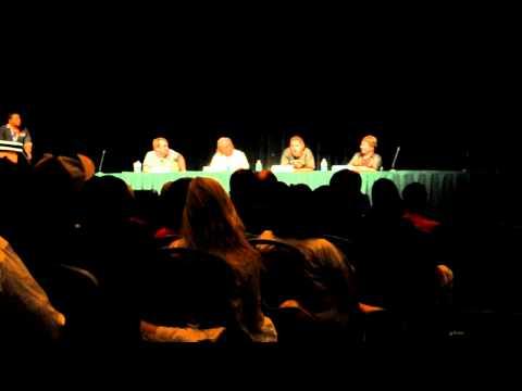 Battlestar Galactica Panel  Aaron Douglas Talks About Losing His Wife  DragonCon 2010