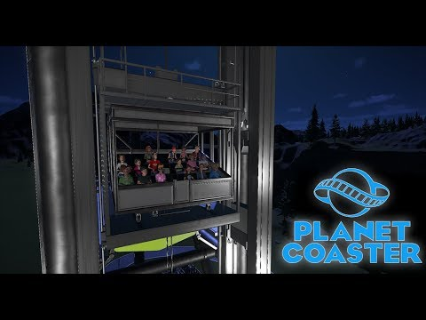 Planet Coaster First Look: Horror Heights Drop Tower - Studios Pack