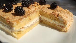 Норвежский торт Нежный воздушный необычный