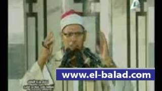 بالفيديو.. موقف محرج لمبتهل احتفالية «غزوة بدر»