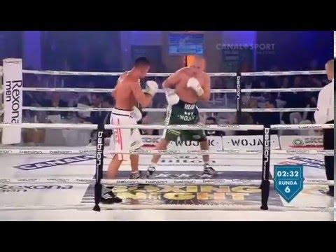 Matty Askin vs Krzysztof Glowacki - Fight 16 (Loss - KO 11 12x3)