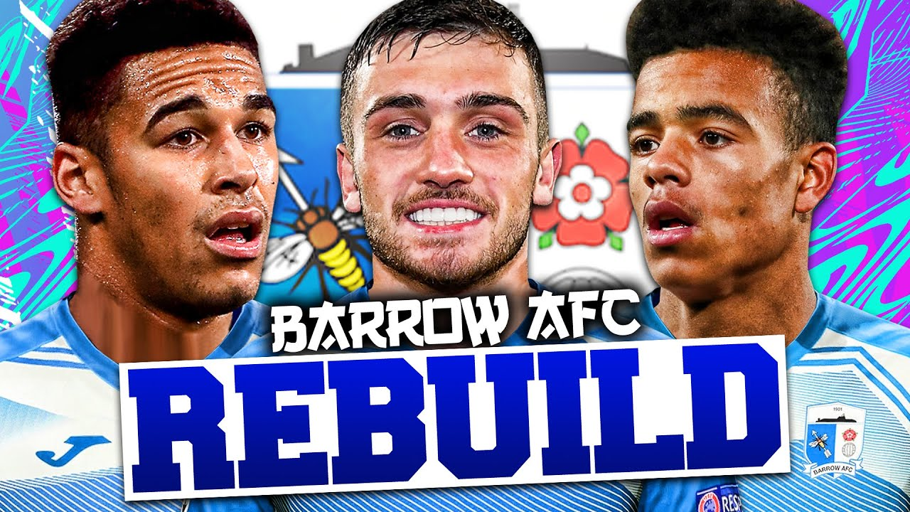 Download REBUILDING BARROW AFC!!! FIFA 21 Career Mode
