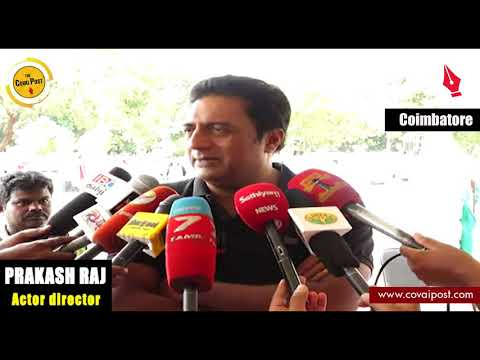 Prakash Raj calls for putting an end to illegality in film industry