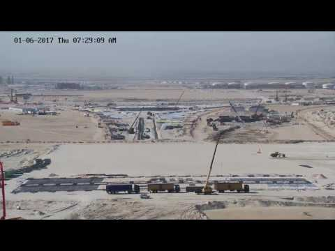 Kuwait International Airport New Passenger Terminal Construction site 26072017HD