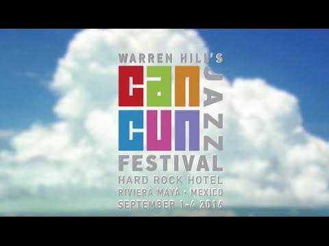 Warren Hill's Cancun Jazz Festival Promotional Video