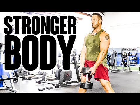 TOP 7 Dumbbell 💪 Exercises for a STRONGER Body | Full Body Workout