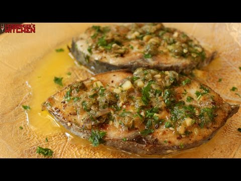 Fish In Lemon Butter Caper Sauce | Keto Recipes | Headbanger's Kitchen