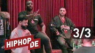 Manuellsen & Fler: Fanfragen zu Bushido, Arafat, Animus & echtem Rap (Interview) #DerDiisch – Teil 3
