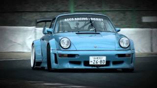 KA-TUN Porsche 964 Drift ポルシェでドリフト1.1