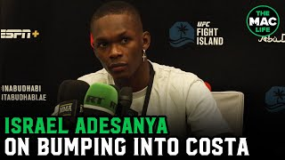 Israel Adesanya talks Paulo Costa run-in: