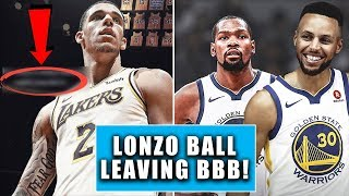 Lonzo Ball Leaving BBB For Nike! Golden State Warriors In Big Trouble? | Breaking The NBA News Alert