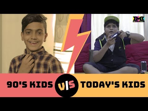 90s Kids VS Today's Kids | BMB