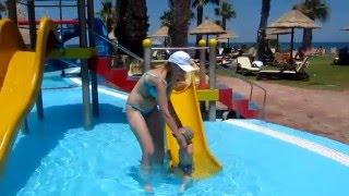 Star Beach в Херсониссосе. Крит. Детский бассейн(Купаемся с детьми в детском бассейне аквапарка Star Beach на Крите., 2016-02-03T08:13:38.000Z)