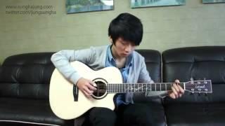 SunghaJun best guitAR player Blue(big bang)