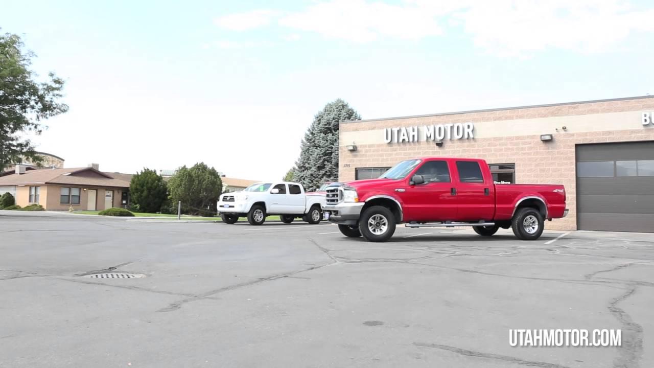 2004 Ford F 250 Super Duty Red Crew Cab Gas Engine Utah Motor Xlt Companyllc 801722 5482