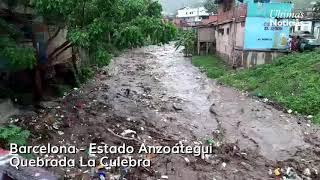 Barcelona - Estado Anzoátegui - Afectada por las lluvias