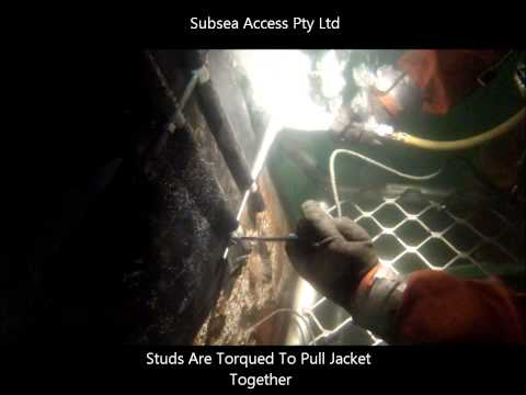 Pile Protection Install - Subsea Access