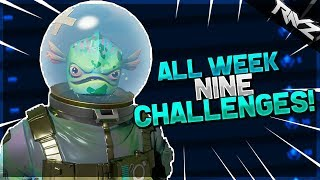 ALL WEEK 9 CHALLENGES LEAKED! - Fortnite: Battle Royale All Season 3 Battle Pass Week 9 Challenges!