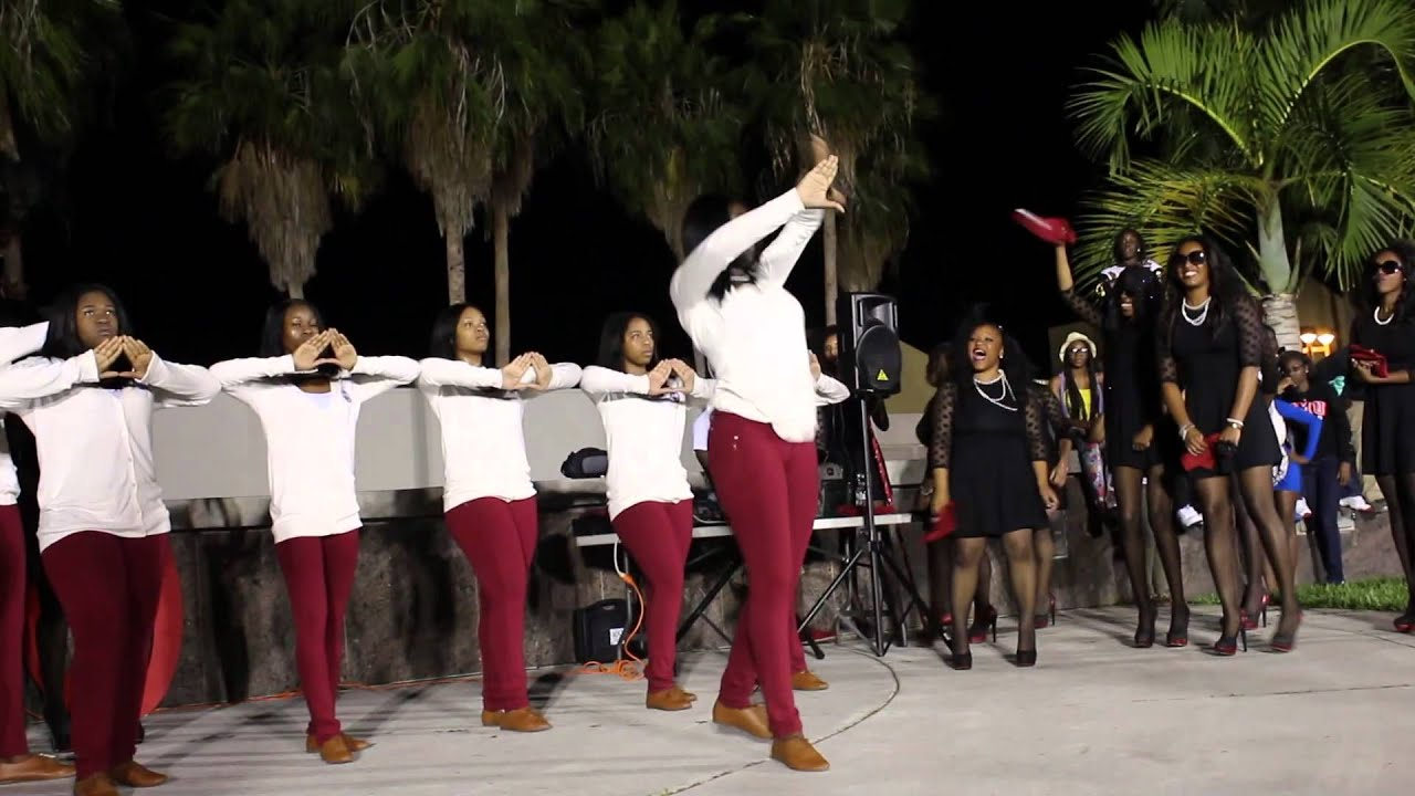 FAU Delta Founders Day Celebration - YouTube