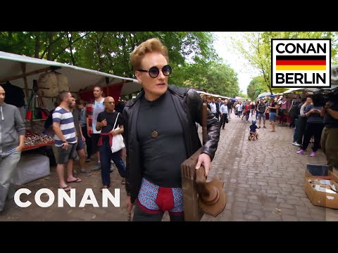 Conan Hits The Streets Of Berlin  - CONAN on TBS