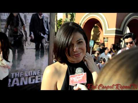Lana Parrilla at the World Premiere of The Lone Ranger @LanaParrilla