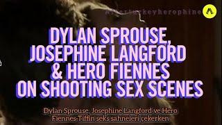 \Seks sahnelerini çekerken...\ Hero Fiennes-Tiffin, Josephine Langford, Türkçe alt yazılı röportaj