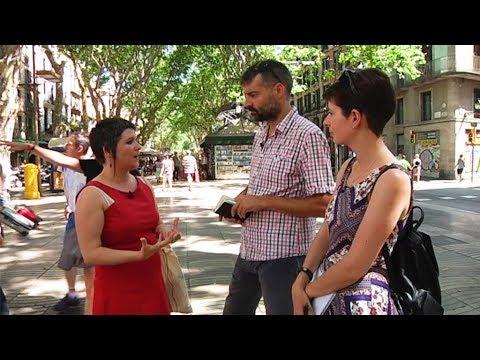 Gala Pin, regidora de Ciutat Vella, respon a les preguntes de l