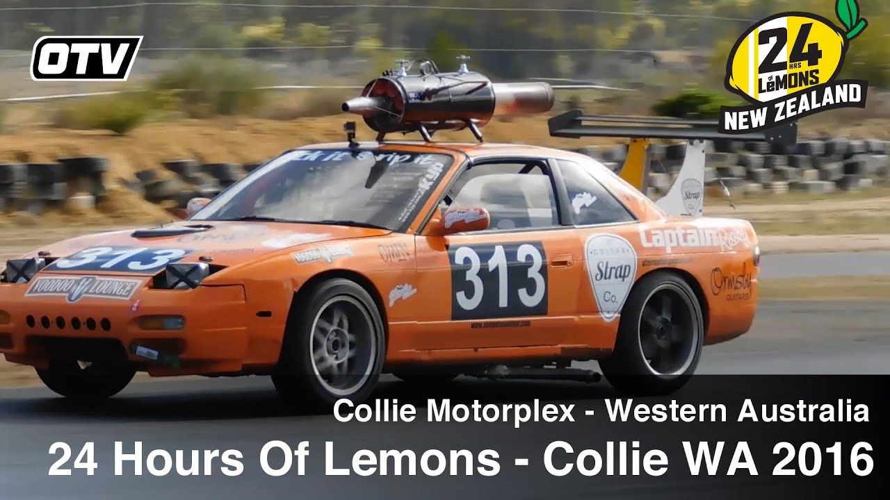 24 Hours Of Lemons >> 24 Hours Of Lemons - Collie Motorplex, Western Australia Highlights 2016 - YouTube