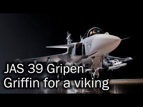 Saab JAS 39 Gripen - griffin for a viking. History and description