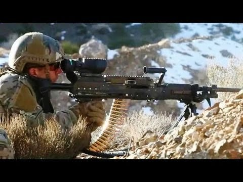 General Dynamics Ordnance & Tactical Systems - Light Weight .338 Cal Medium Machine Gun [480p]