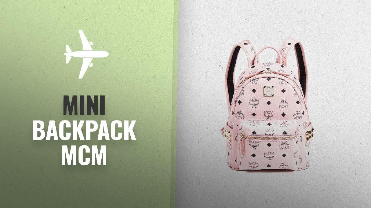 Top 10 Mini Backpack Mcm  2018   MCM Women s Mini Stark Backpack ... 663c268f66450