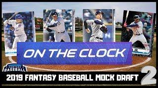 2019 Fantasy Baseball Mock Draft 2.0 - Strategy and Analysis