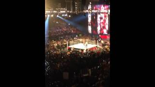 LIVE WWE RAW Brock Lesnar returns to confront Chris Jericho 12/15/14