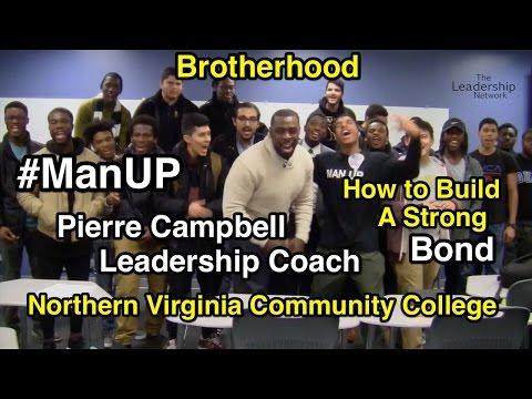Leadership Coach Pierre Campbell Man Up Brotherhood Northern Virginia Community College