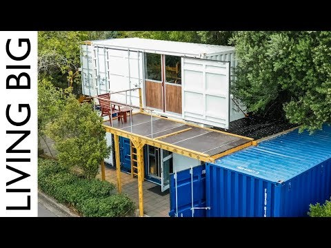 Boat Builder's Incredible 20ft Shipping Container Home - Revisited
