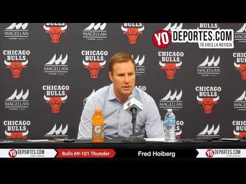 Fred Hoiberg Chicago Bulls 69-101 Oklahoma City Thunder