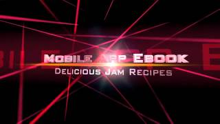 Jam Recipes, Mobile App Ebook